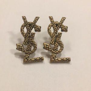 Yves Saint Laurent Snake Earrings